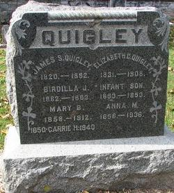 Infant Son Quigley
