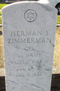 Herman S. Zimmerman