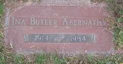 Ina Mae <i>Butler</i> Abernathy