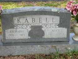 Alice <i>Wittenburg</i> Kabell