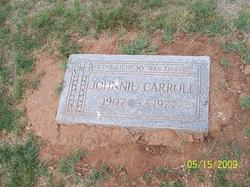 Johnnie Carroll