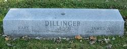 Mary E <i>Hewes</i> Dillinger