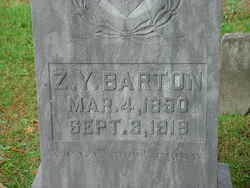 Zeremiah Young Zimsie Barton