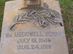 William McDowell Berry