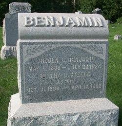 Bertha L. <i>Steele</i> Benjamin