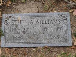 Ethel A. Williams
