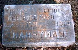 Birdie Harryman