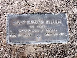 Billy Booth Daniel