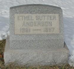 Ethel <i>Sutter</i> Anderson