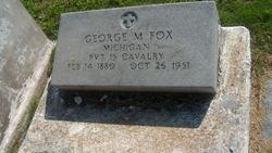 Pvt George Myron Fox