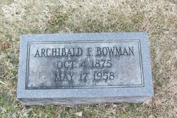 Archibald Bowman