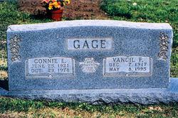 Vancil Franklin Gage