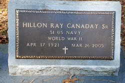 Hillon Ray Canaday, Sr