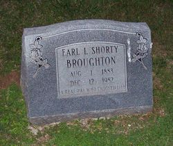 Earl Shorty L Broughton