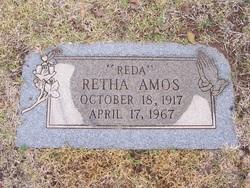 Retha Almeda Reda <i>Stroud</i> Amos