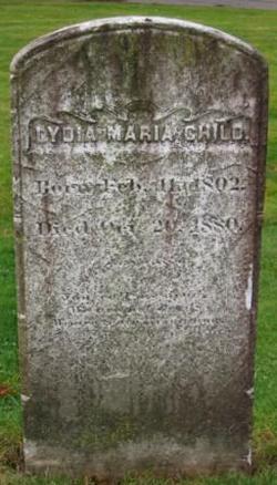 Lydia Maria <i>Francis</i> Child
