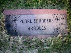 Pearl Louise <i>Saunders</i> Bradley