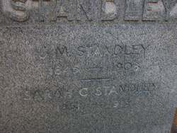 Sarah Charity <i>Clay</i> Standley