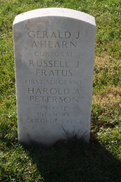 Sgt Russell J Fratus
