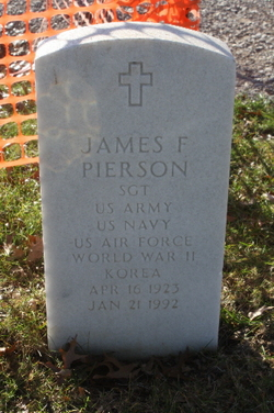 James F Pierson