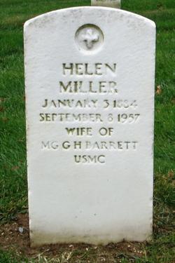 Helen <i>Miller</i> Barrett