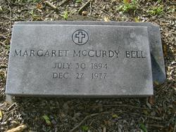 Margaret <i>McCurdy</i> Bell