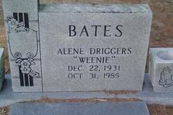 Alene <i>Driggers</i> Bates