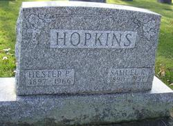 Hester P <i>Sutton</i> Hopkins