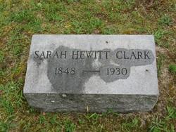 Sarah <i>Hewitt</i> Clark
