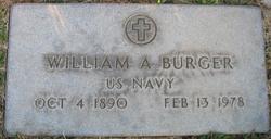 William Alfred Burger