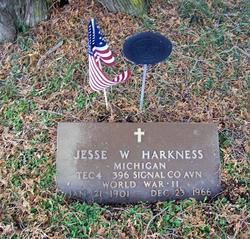 Jesse Walter Harkness
