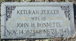 Keturah <i>Zeigler</i> Bonnette