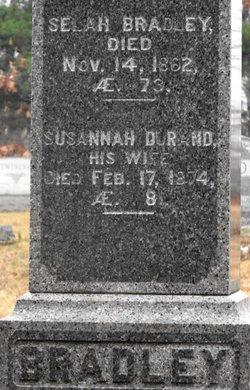 Susannah <i>Durand</i> Bradley