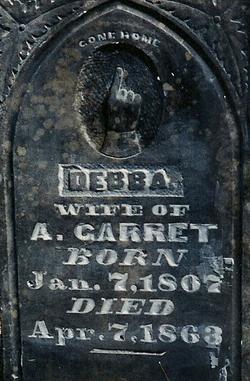 Deborah <i>Benton</i> Garrett