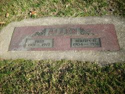 Bertha H Allen