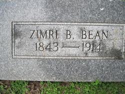 Zimri B Bean