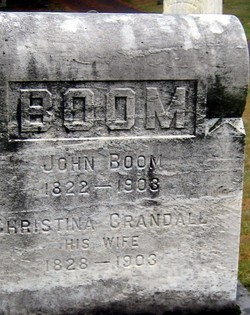 Christina <i>Crandall</i> Boom