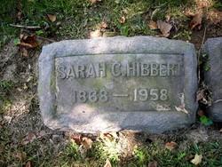 Sarah Cecilia <i>Hill</i> Hibbert