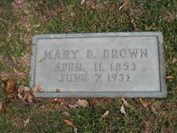 Mary Briscoe <i>Johnson</i> Brown