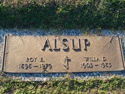 Roy E Alsup