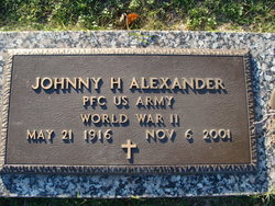 Johnny Hester Alexander