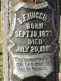 B. F. Huggins