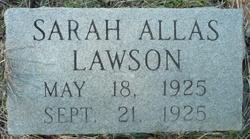 Sarah Allas Lawson