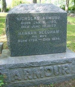 Hannah <i>Needham</i> Armour