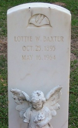 Lottie <i>Whittington</i> Baxter
