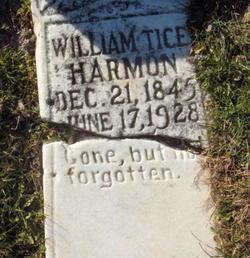 William Mathias Tice Harmon