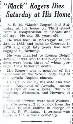 A.B. Mack Rogers