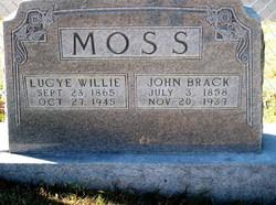John Brack Moss, Sr