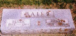 Bessie Isobel <i>Pierce</i> Baier