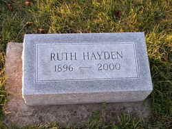Ruth Edna <i>Saurer</i> Hayden